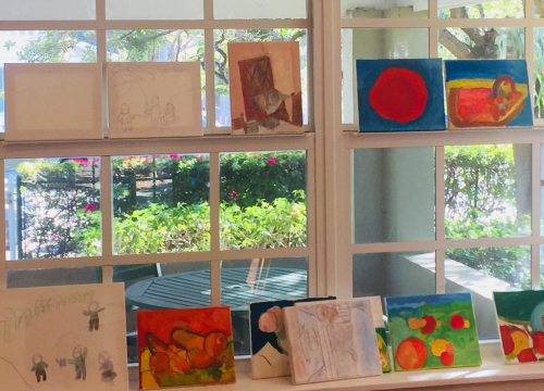 Art Studio Classes at Bay Oaks Assisted Living